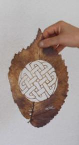 Лоренцо Дюран искусство на листьях