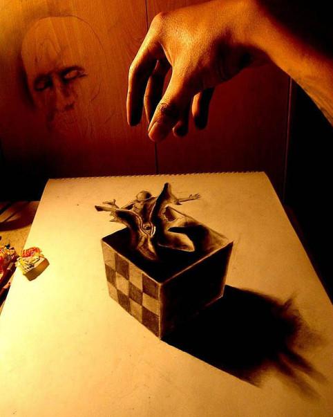 Трехмерные рисунки Fredo