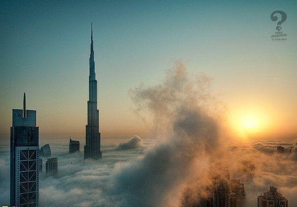 Вид из окон отелей в Дубае